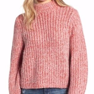 Marled  Red Comfy Sweater